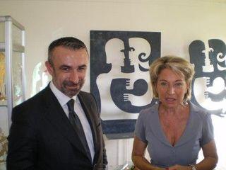 Alain SEBAN, Président du Centre Pompidou et Catherine DUMAS, Sénatrice de Paris