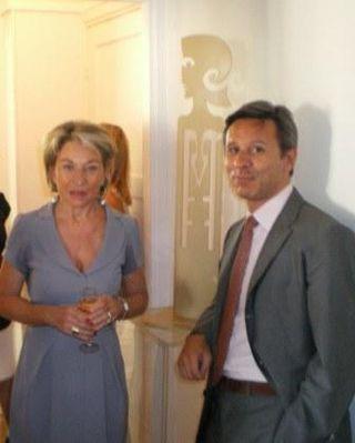 Catherine DUMAS et Christophe BEAUX, Président de la Monnaie de Paris