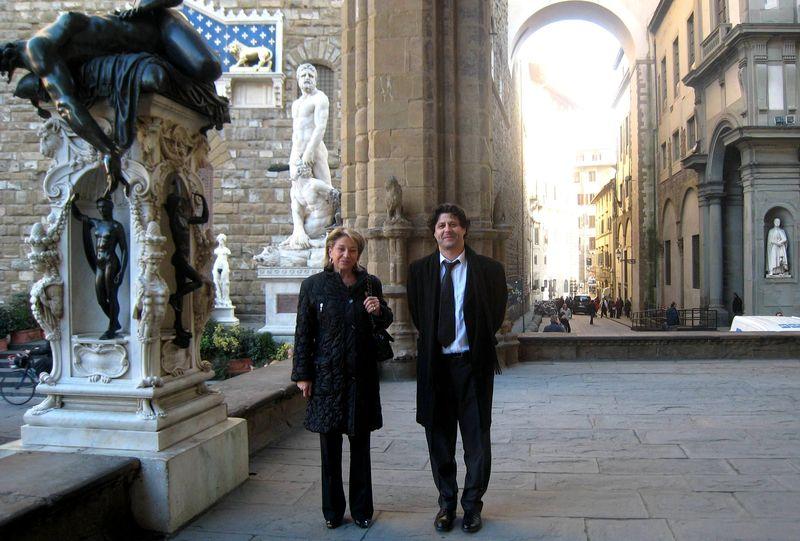 Catherine Dumas à Florence le 11 décembre 2009 3