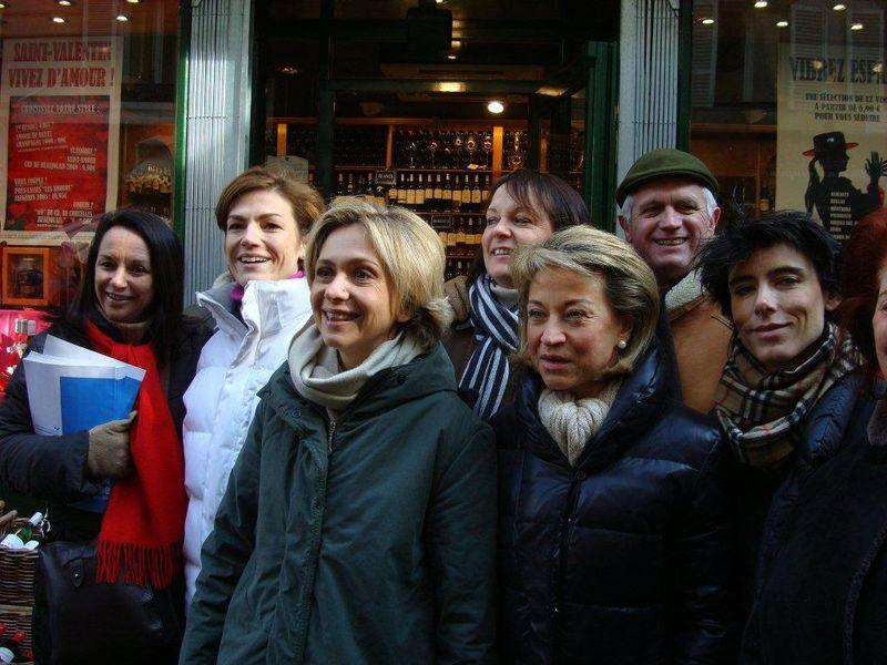 14 FEV 2010 - Valérie Pécresse et Chantal Jouanno - Poncelet 013