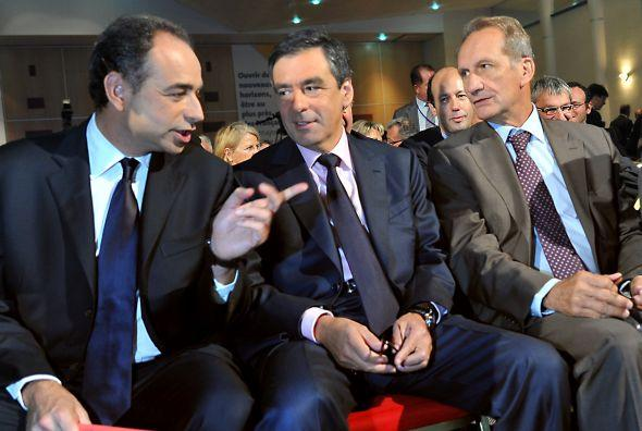 Jean-François Copé, François FILLON, Gérard Longuet