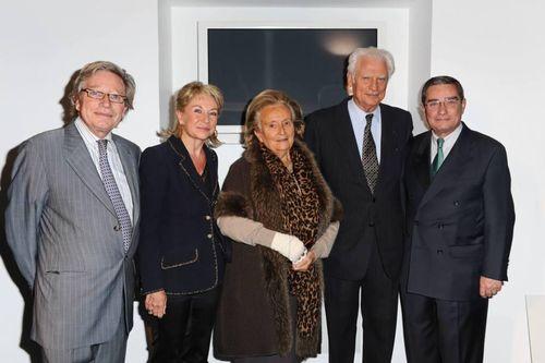 Vendanges Comité Montaigne 2010 Bernadette CHIRAC Réduit