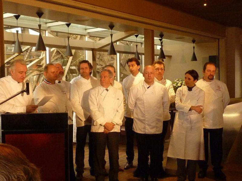 Conférence du College Culinaire de France 01022011