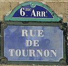Plaque Tournon